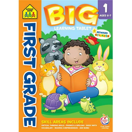 First Grade - Ages 6-7 - Big Learning Workbook