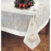 Saro Sheer Embr'd Tablecloth