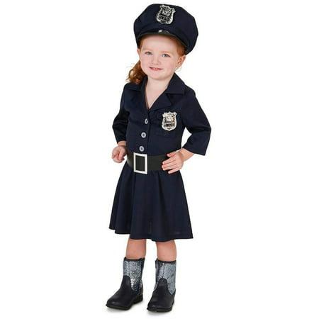 Police Girl Halloween (CLASSIC POLICE GIRL CHILD)