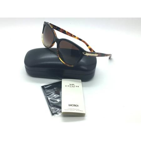 6550a16c2127 Coach - Coach New Authentic Tortoise Black Women Sunglasses HC8132 5438T5  L109 57 17 135 - Walmart.com