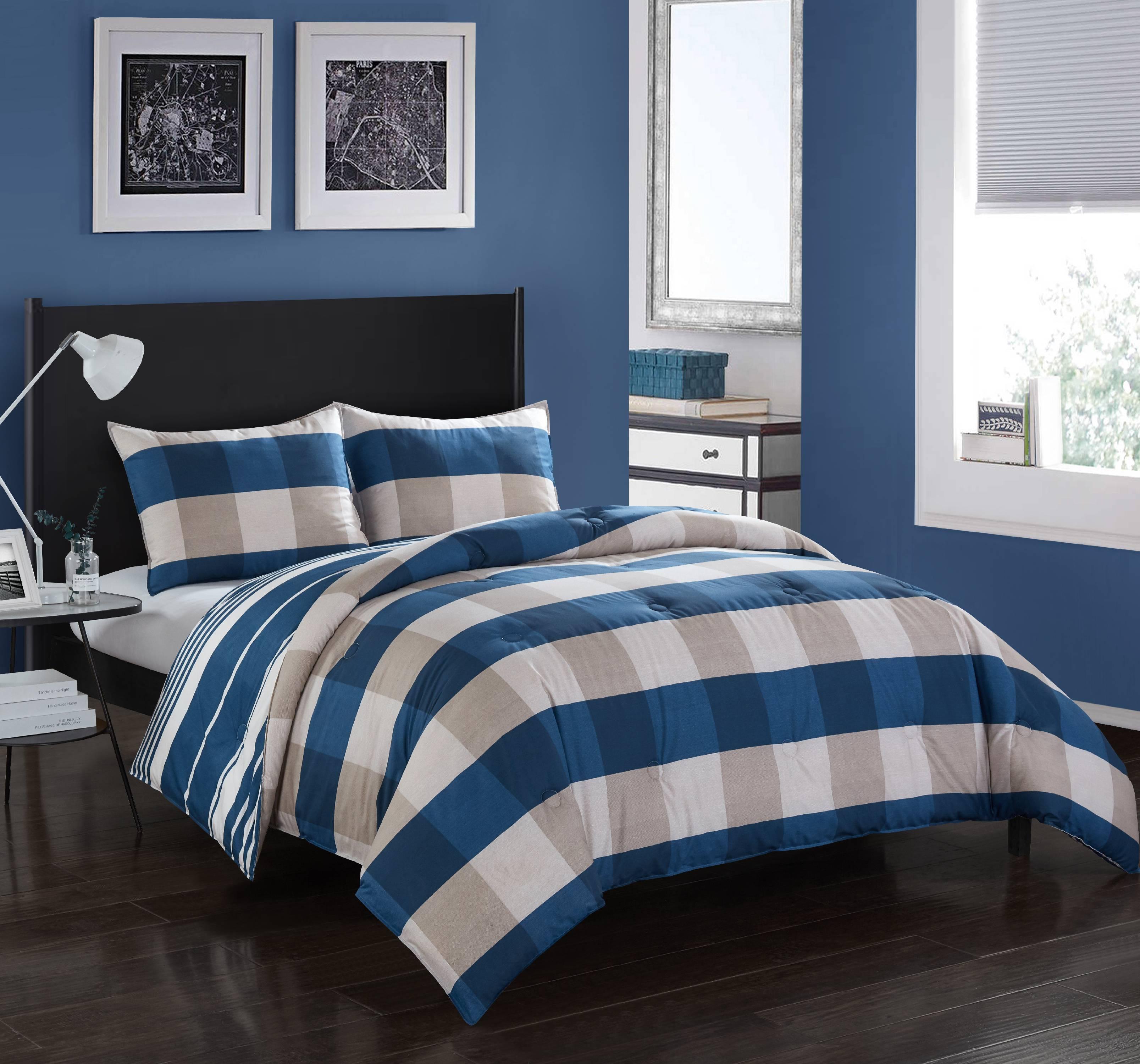 Better Homes & Gardens Alberton Plaid Comforter Set