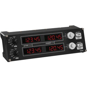 Saitek Pro Flight Radio Panel for PC 945000029 (Saitek Pro Flight Yoke System)