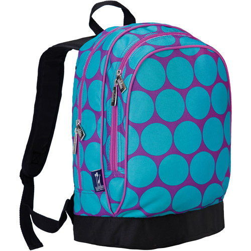 Wildkin Big Dot Aqua Sidekick Backpack