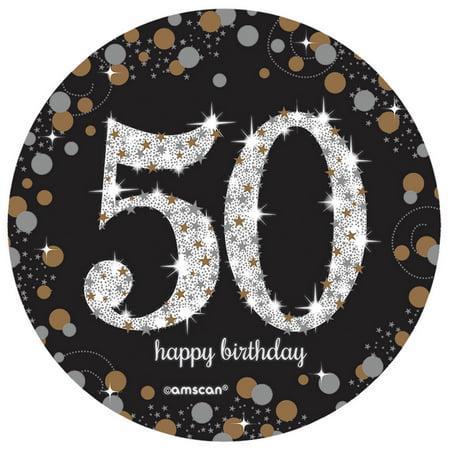 - Sparkling Celebration 50th Birthday Spray Centerpiece (1)