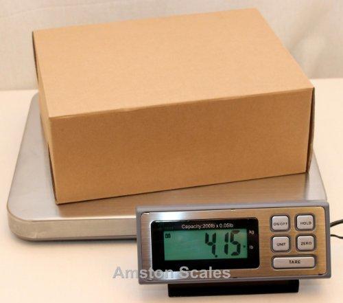 200 LB x 0.05 LB Digital Postal Postage Shipping Scale St...