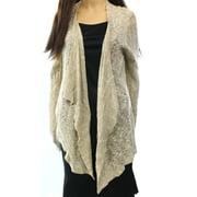 Olivia Sky NEW Beige Women's Size Large L Open Front Cardigan Sweater
