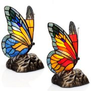 River of Goods 13261 Multicolor Butterfly 2 Light 8-1/
