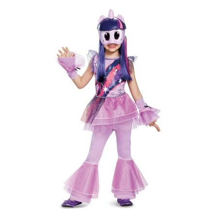 My Little Pony: Twilight Sparkle Deluxe Child Costume - Little Kid Costume For Adults