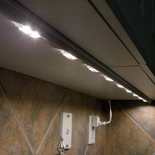 SuperStoreLED Kitchen Under cabinet Counter LED lighting + free shipping + free power supply