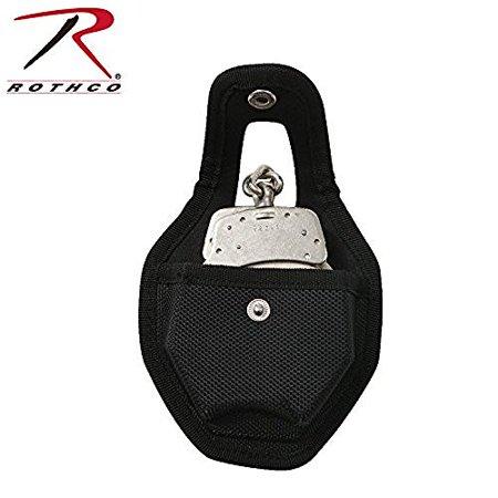 Rothco Enhanced Molded Open Handcuff Case - Black