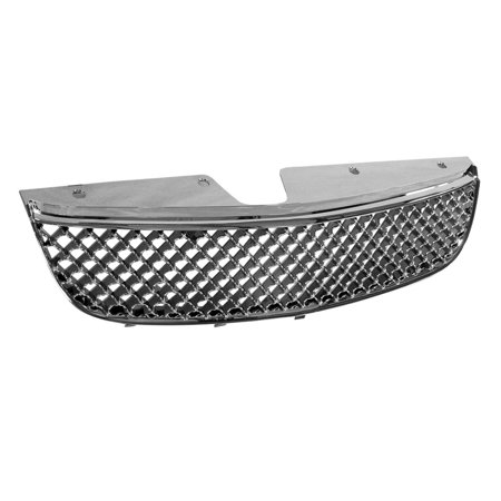 - RL Concepts CHROME HONEYCOMB MESH FRONT HOOD BUMPER GRILL GRILLE COVER ABS 97+ CHEVY MALIBU