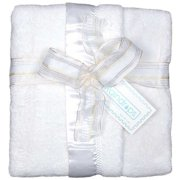 Dee Givens and CoRaindrops 1161 Raindrops 1161 Unisex White Flurr Receiving Blanket