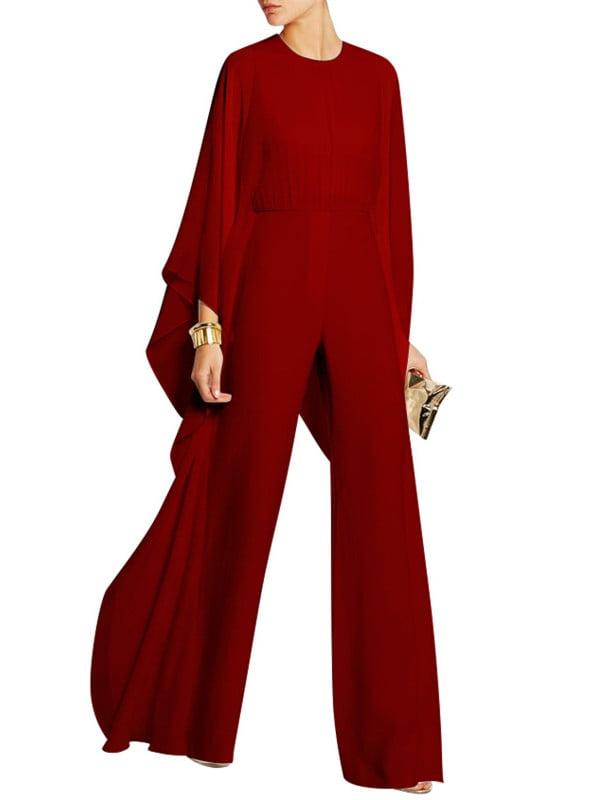 Mesh Long Sleeve Women Solid Color Party Jumpsuit Club Bodysuit