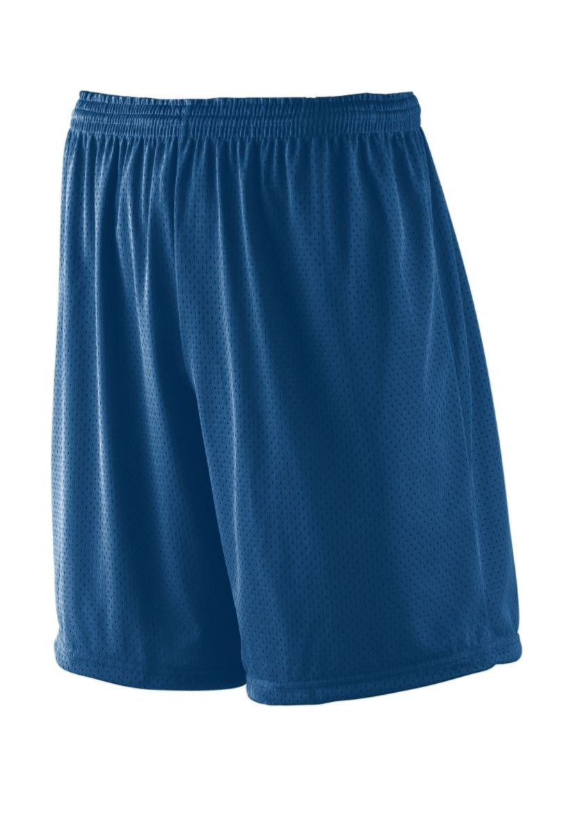 """Augusta Drop Ship Adult Tricot Mesh/Tricot-Lined 7"""" Short"""