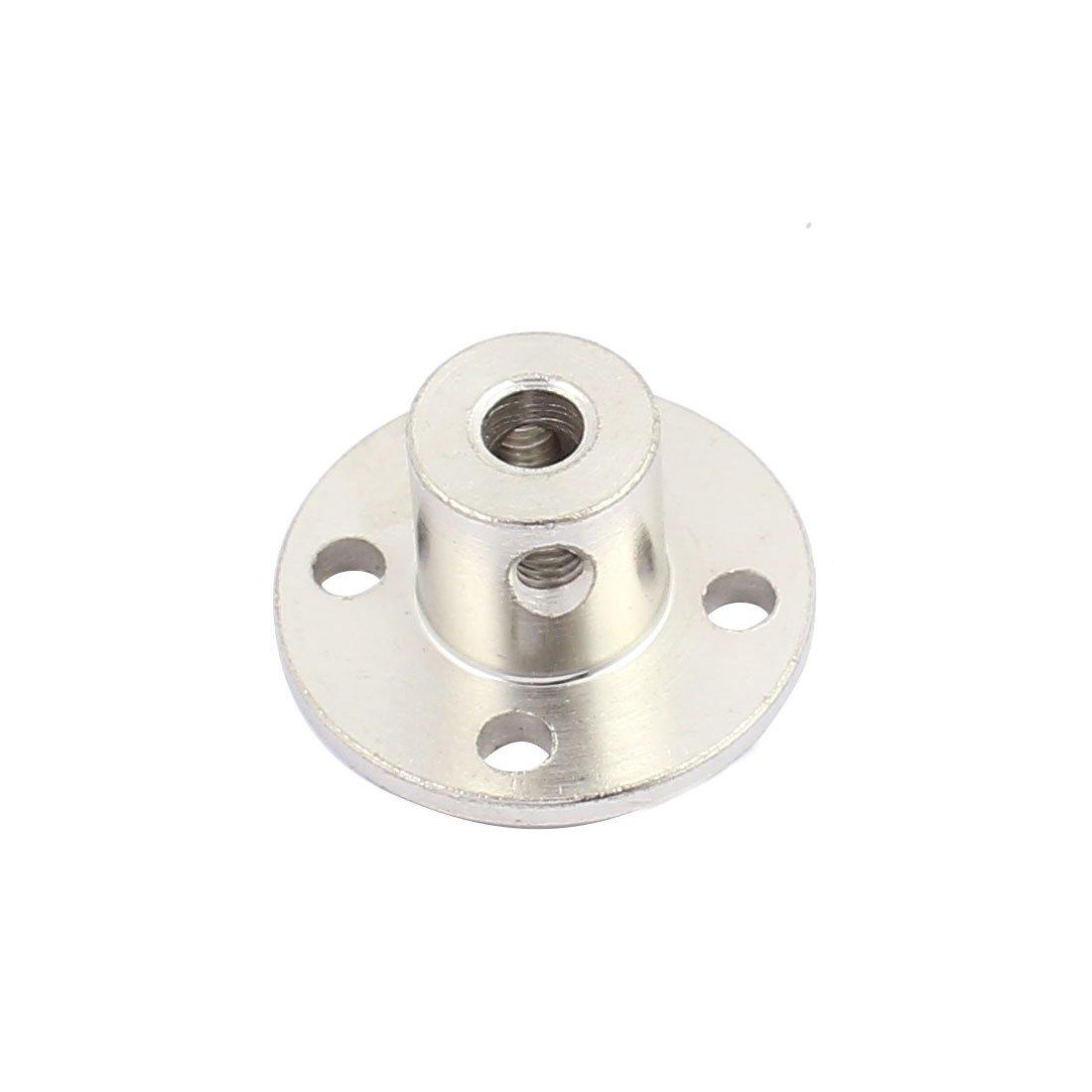 4mm Rigid Flange Coupling Motor Guide Shaft Coupler Motor Connector f DIY  Parts