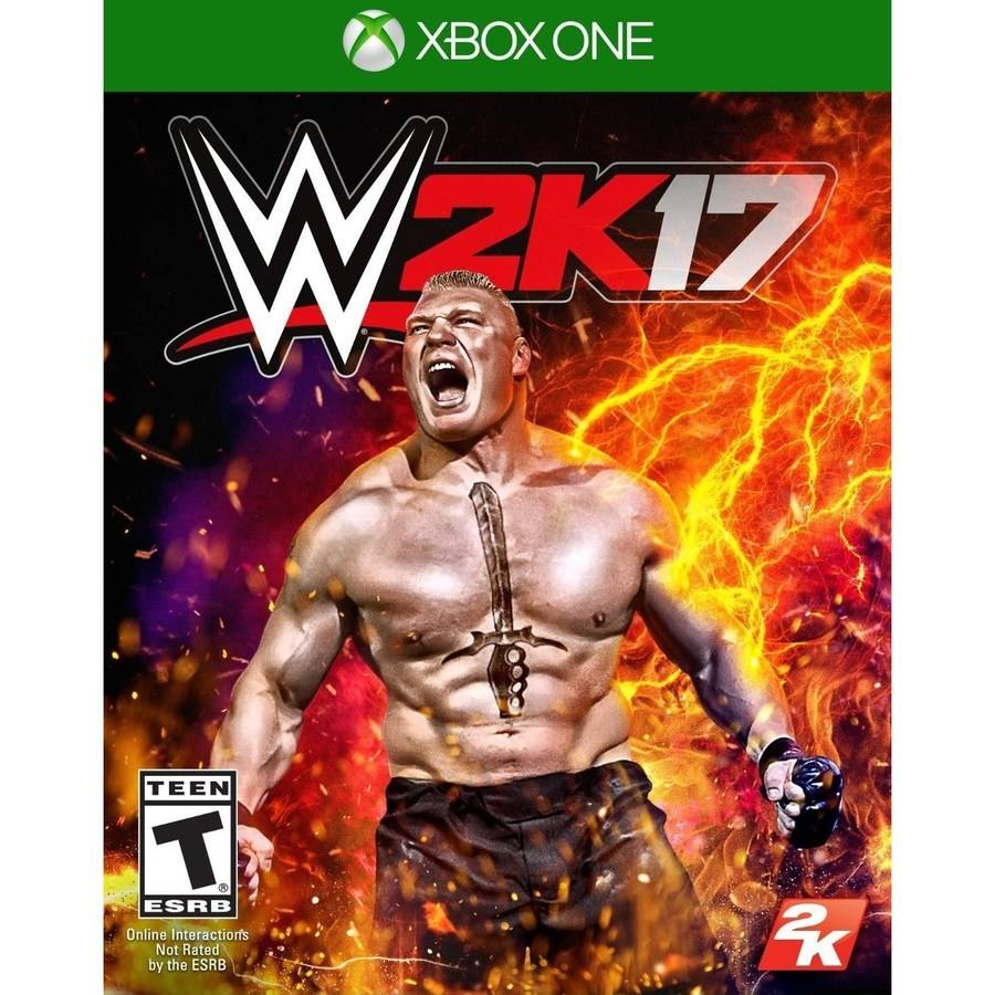 WWE 2K17 (Pre-Owned), 2K, Xbox One, 886162559828