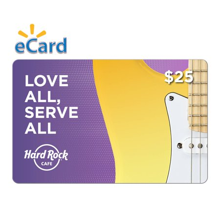 2001 Pin Hard Rock Cafe (Hard Rock Cafe $25 Gift Card (Email Delivery) )