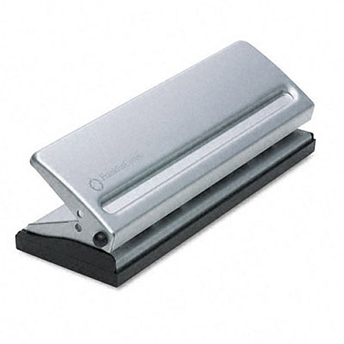 FranklinCovey 4-Sheet 7-Hole Punch for Classic Style Day Planner Pages, Metal