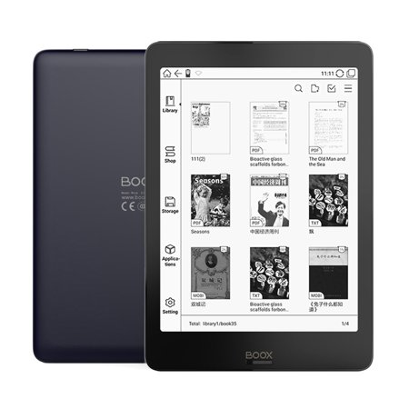 "BOOX NOVA Plus 7.8"" 1872x1401 Ebook Reader 300PPI Carta Dual Color Frontlight UItra HD Ereader 2G/32GB 4-core Android 6.0 eBook e-ink e-reader"