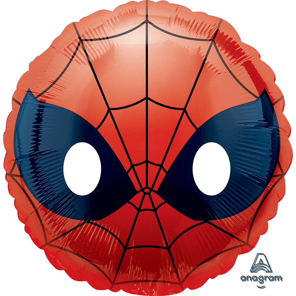 "Spiderman Emoji Foil Balloon 18""(Each )"