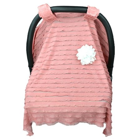 Baby Stroller Sunshade Newborn Car Seat Canopy Pushchair Prams Cover (Pink) ()