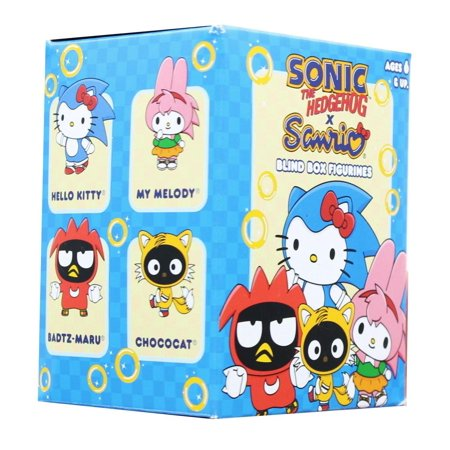 Sonic The Hedgehog Sanrio Blind Boxed Mini Figure](Sonic The Hedgehog Tattoo)