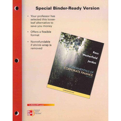 Fundamentals of Corporate Finance: Standard Edition
