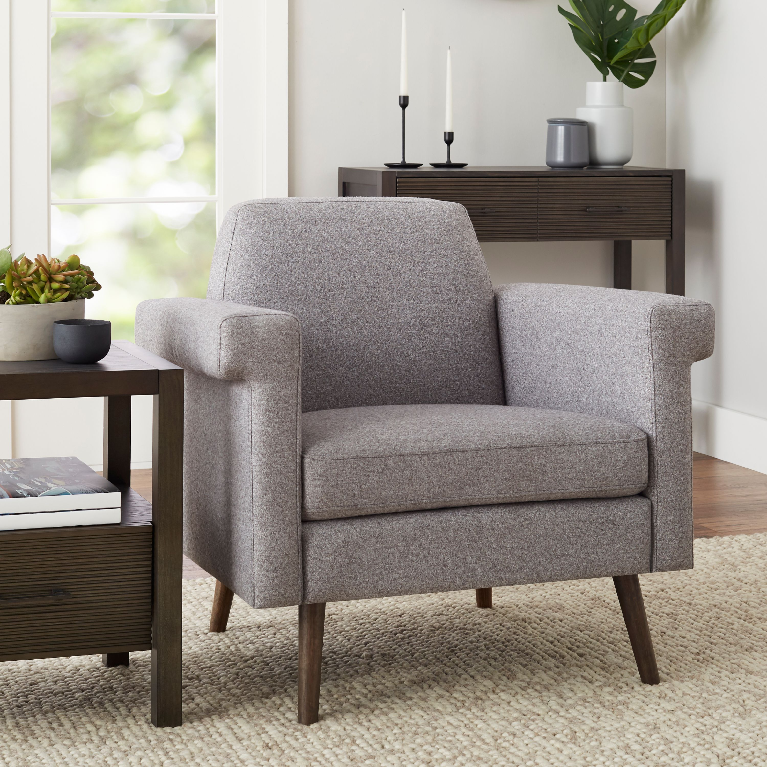 Better Homes & Gardens Remick Lounge Chair, Multiple Colors