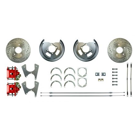 Right Stuff FSCRD65Z GM 10 & 12 Bolt Rear Disc Brake