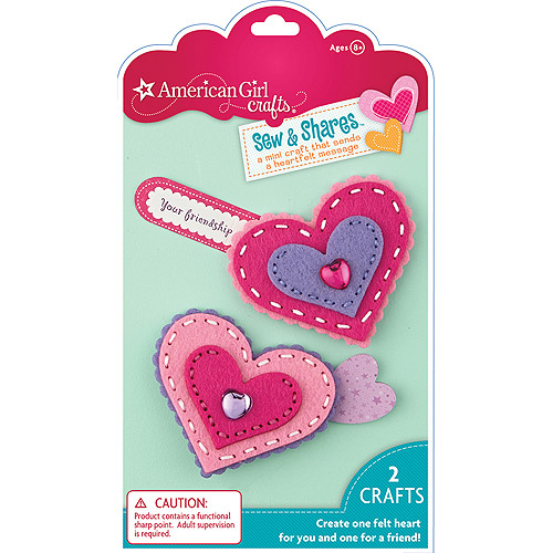 American Girl Sew and Shares Kit, Hearts
