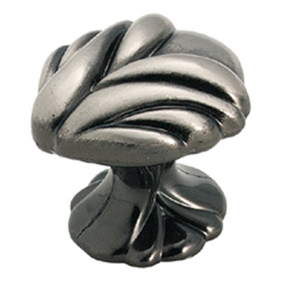 Expressions 1-3/8 in (35 mm) Length Pewter Cabinet Knob