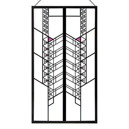 14 Stained Glass (Frank Lloyd Wright Hollyhock House Stained Glass - 14