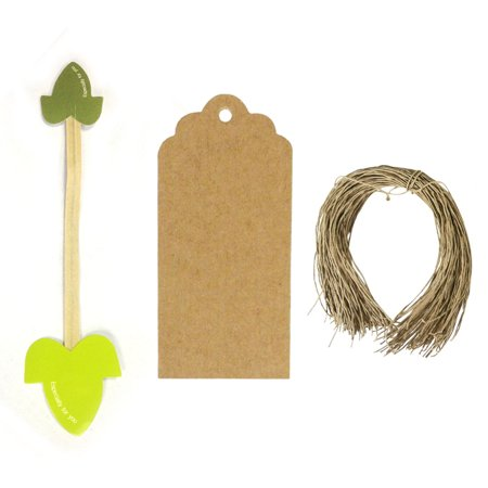Cake Pop Bags And Ties (Wrapables® Set of 50 Leaf Twist Ties with 20 Scalloped Gift Tags for Baked Goods, Cake Pops, Party Favors, for Sealing Goody and Treat Bags, and Cello)