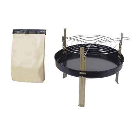Marsh Allan #8 Disposable Grill With Charcoal, 11;