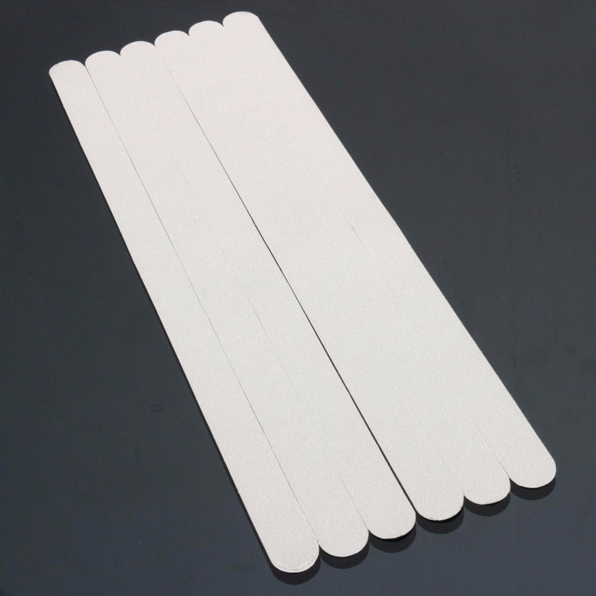 5X Anti-Slip Strips Bathroom Bath Shower Self-Adhesive Non-Slip Transparent Q