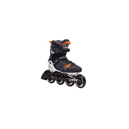 Pro Rollerblades (K2 V02 90 Pro Men's Inline Skate - Black/White/Orange -)