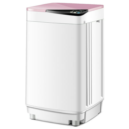 Washing Machine Manual (Full-Automatic Washing Machine 10 lbs Washer/Spinner Germicidal UV Light Pink)
