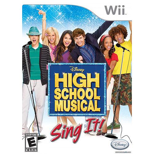 High School Musical: Sing It! (Wii)