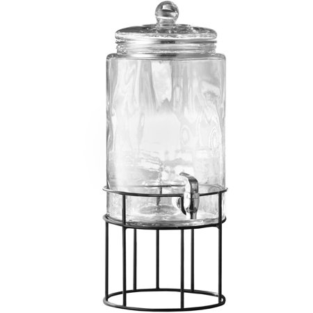 ARTESIA BEVERAGE DISPENSER W/METAL STAND, 250 -