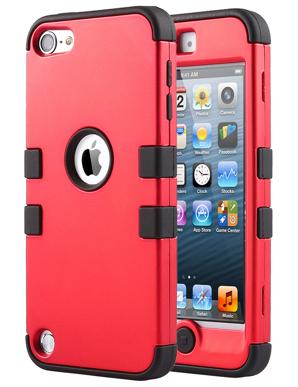 separation shoes 823ed 6da32 iPod Touch 7 Case, iPod Touch 6th Generation Case,ULAK Hybrid Dual Layer  Hybrid Shockproof Cover Case Silicon Hard Cover for iPod Touch 5 5th Gen /  6 ...