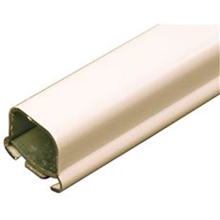 WIREMOLD V700 SMALL STEEL RACEWAY, SURFACE MOUNT, IVORY 5 FT.