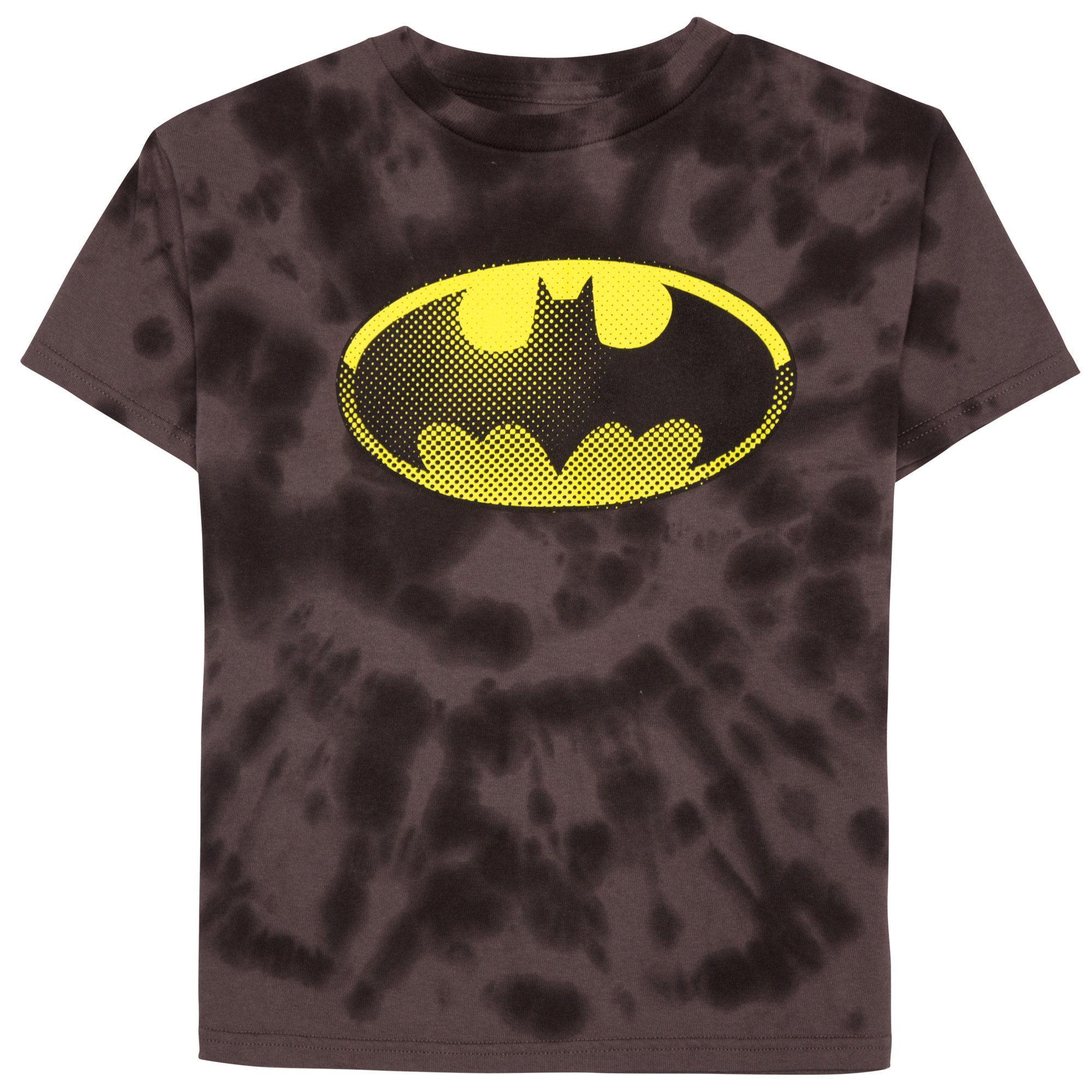 Batman Boys' Shield Short Sleeve Tie Dye Graphic T-Shirt by Generic