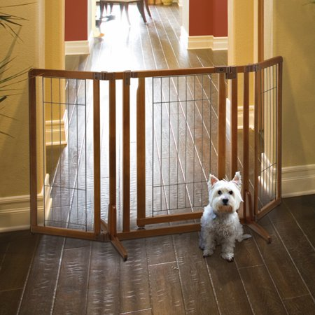 Richell One Touch Gate (Richell Premium Plus Freestanding Pet Gate with Door)