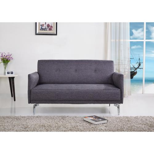 US Pride Furniture Emma Fabric Modern Loveseat