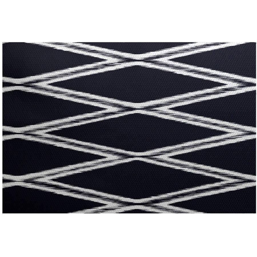 Simply Daisy 3' x 5' Gate Keeper Geometric Print Indoor Rug