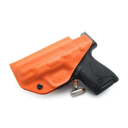 Concealment Express: Carbon Fiber Hunter Orange KYDEX IWB Gun Holster
