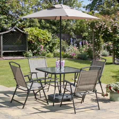 Transcontinental Piece Oasis Collection Bronze Patio Set