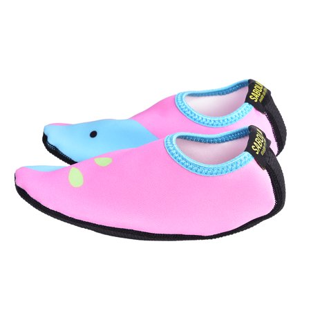 0807daabe87c GLOGLOW - GLOGLOW 1 Pair Unisex Beach Skin Shoes Swim Sport Summer Socks  Rubber Sole for Boy Girl Children