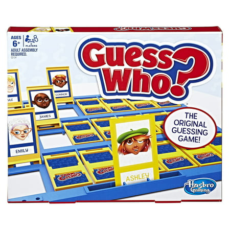 Classic Guess Who? - Original Guessing Game, Ages 6 and up (Games For Family Night)