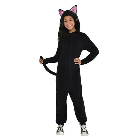 Child Black Cat Onesie (Children's Cat Costume Ideas)